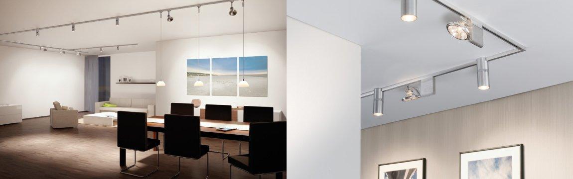 variline paulmann 2 phasen schienensystem. Black Bedroom Furniture Sets. Home Design Ideas