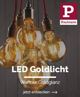 LED Goldlicht Lampen
