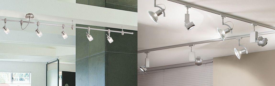 Schienensysteme Fur Lampen Und Leuchten Lampen1a De