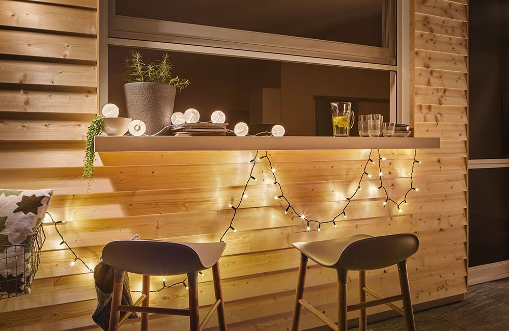 Lichterketten als Gartenbeleuchtung