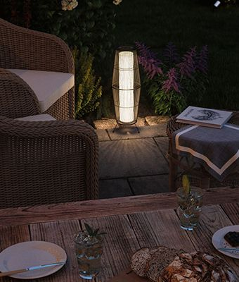 Mobile Terrassenlampen