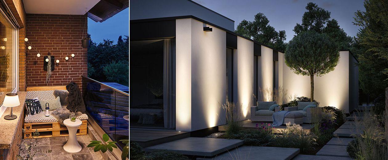 Smarte Gartenbeleuchtung - Außenbeleuchtung via App steuern