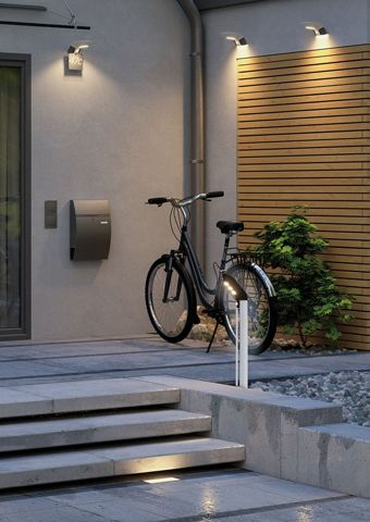 Terrassenlampen mit Bewegungsmelder für mehr Sicherheit