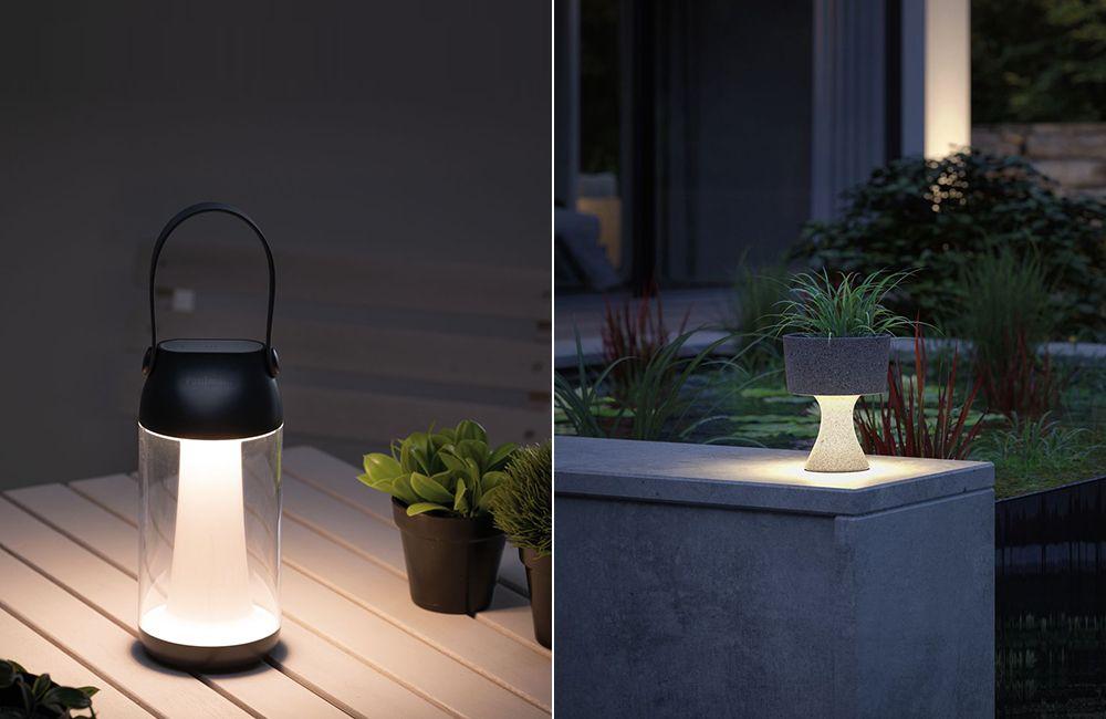 Terrassenlampen als Grundbeleuchtung