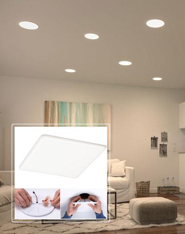 Veluna VariFit LED-Einbaupanel