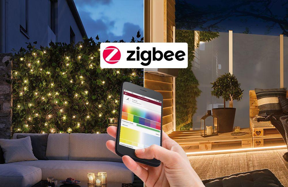 Zigbee Gartenbeleuchtung - Wlan Steuerung