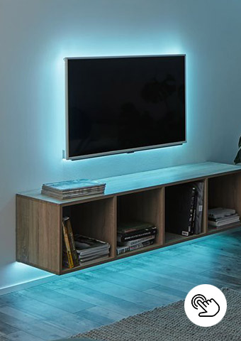 SimpLED Stripes für LED TV-Beleuchtung