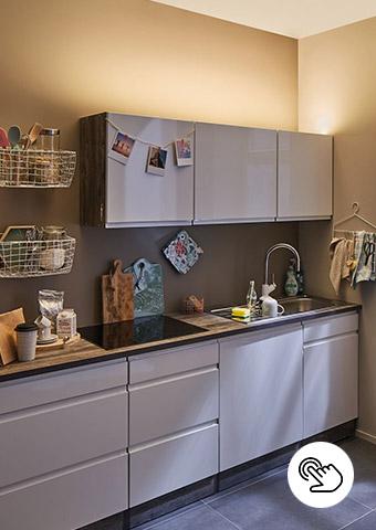 Küchen Hängeschrank indirekt beleuchten