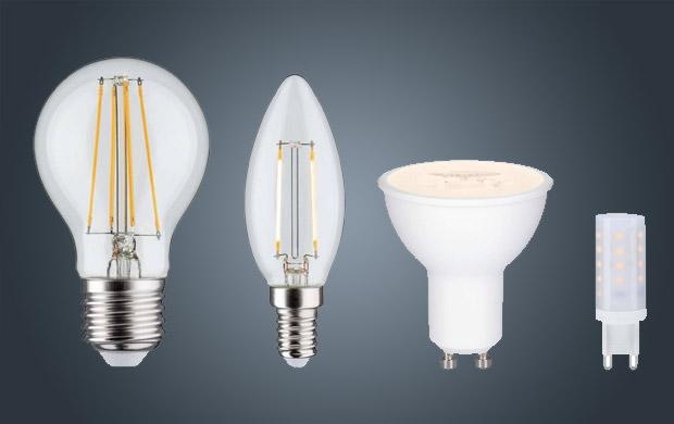 LED Leuchtmittel 3 stufen dimmbar