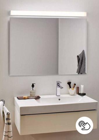 Spiegelleuchten für das Badezimmer