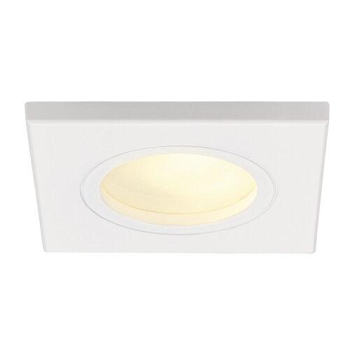 dolix gu10 square downlight eckig 111141 slv leuchten. Black Bedroom Furniture Sets. Home Design Ideas