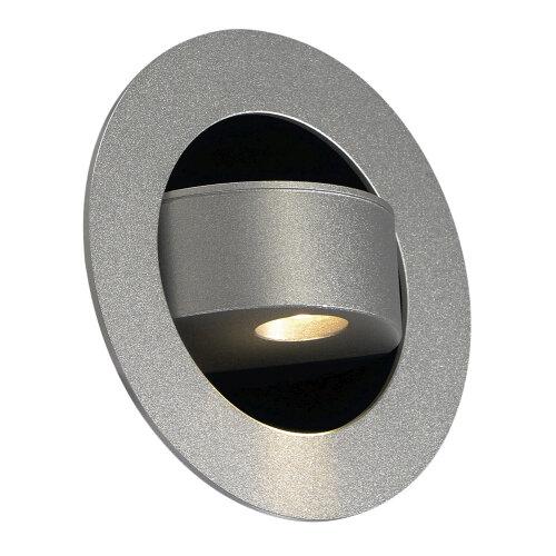 gilaled wandleuchte silbergrau 3w 146382 slv leuchten. Black Bedroom Furniture Sets. Home Design Ideas