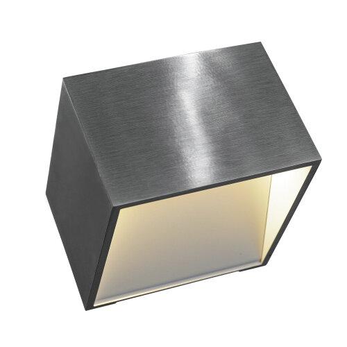 logs in wandleuchte eckig aluminium 151325 slv leuchten. Black Bedroom Furniture Sets. Home Design Ideas