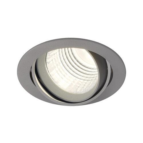 new tria dlmi round downlight 113734 slv leuchten. Black Bedroom Furniture Sets. Home Design Ideas