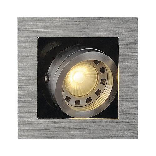 kadux 1 gu10 downlight eckig 115516 slv leuchten. Black Bedroom Furniture Sets. Home Design Ideas