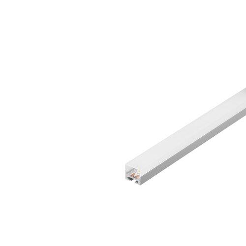 aluminium profil weiss 1m mit weisser abdeckung. Black Bedroom Furniture Sets. Home Design Ideas