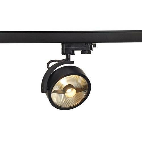 kalu track qpar111 leuchten kopf schwarz inkl 3p adapter. Black Bedroom Furniture Sets. Home Design Ideas