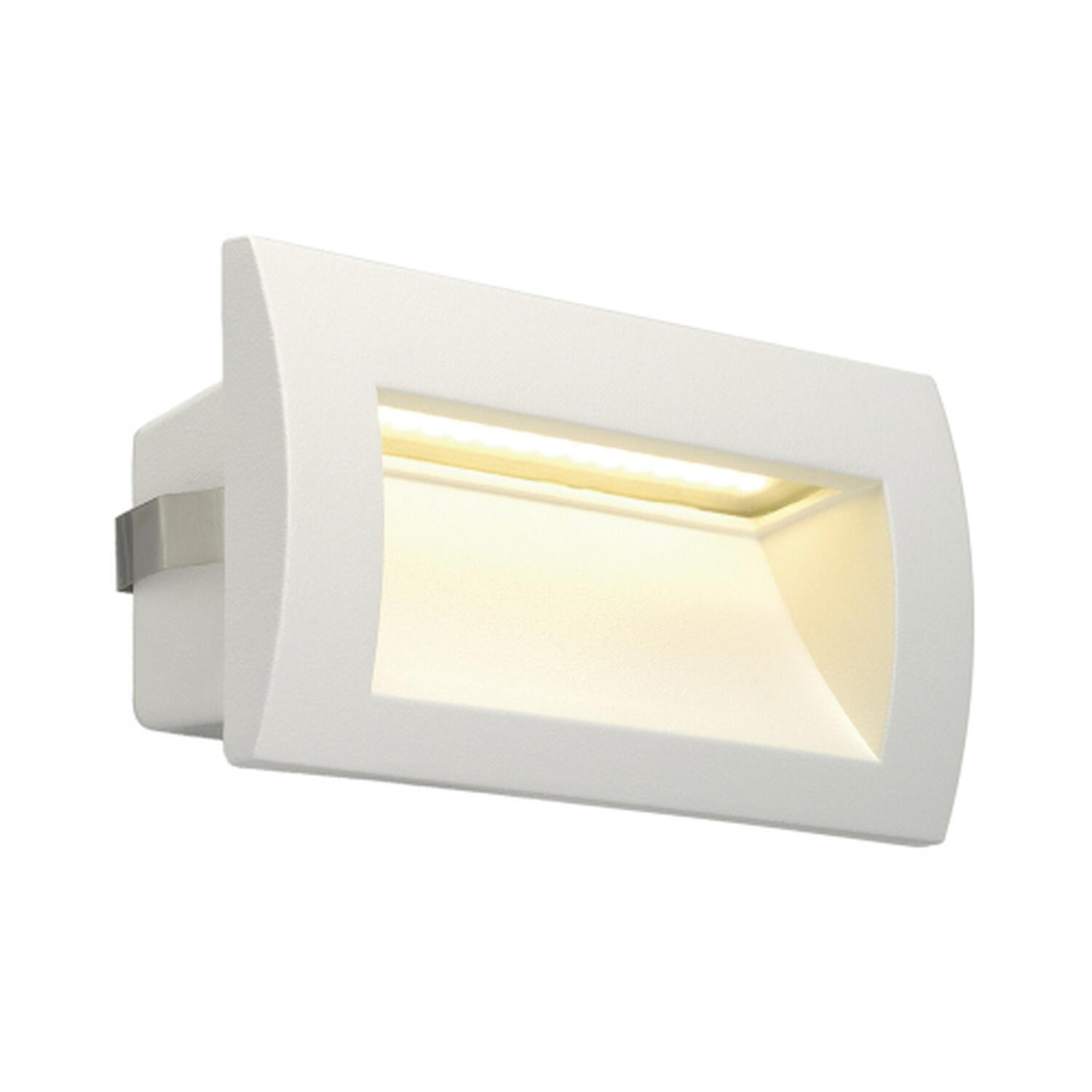 DOWNUNDER OUT LED M, Wandeinbauleuchte, weiss