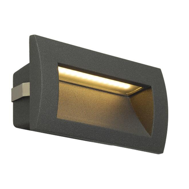 DOWNUNDER OUT LED M, Wandeinbauleuchte, anthrazit