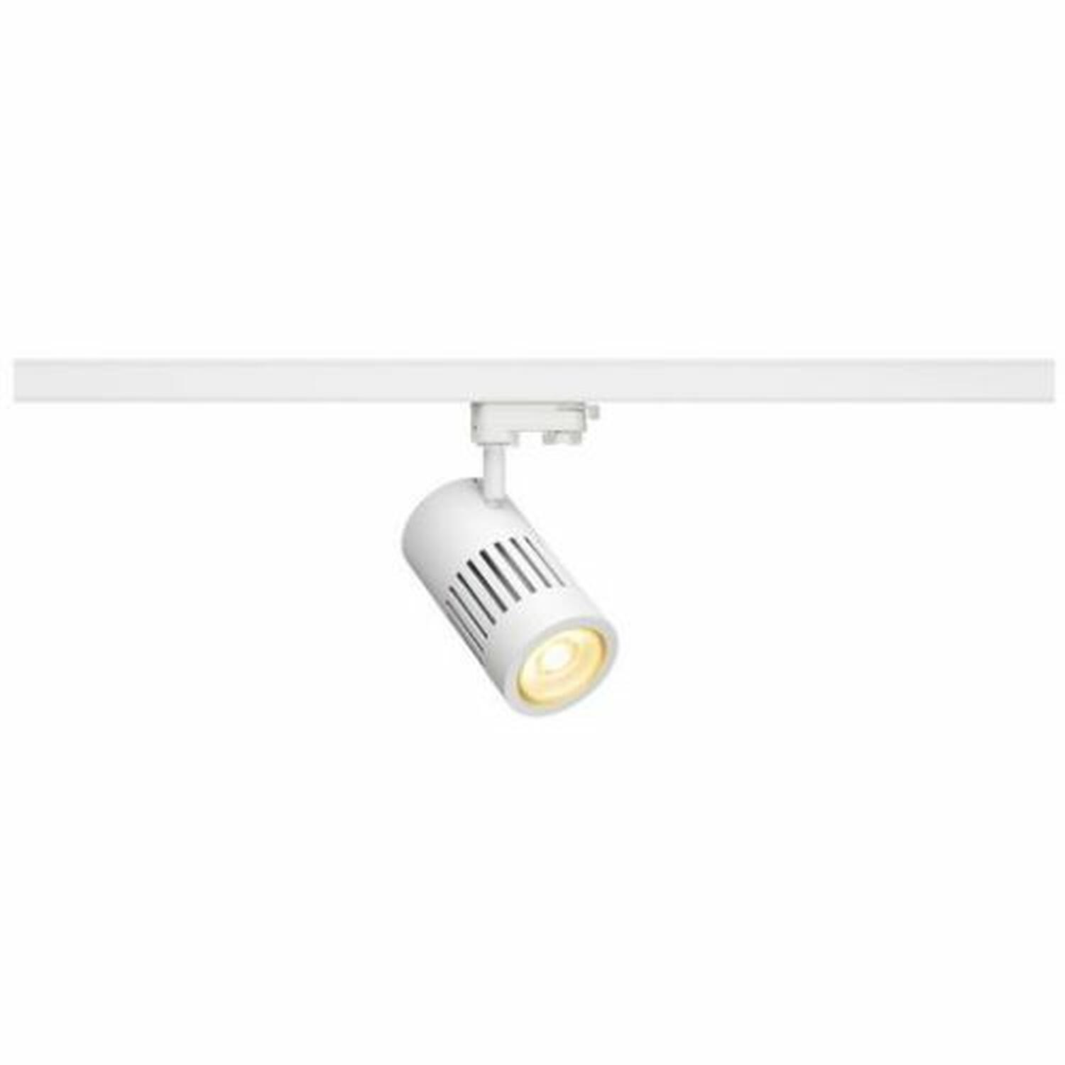 STRUCTEC LED 30W, rund, weiss, rich color, 60°, inkl. 3P.-Adapter