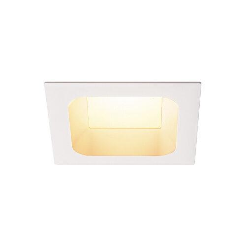 VERLUX Einbaustrahler  LED 3000K mattweiß L//B//T 135//135//75 cm 20W