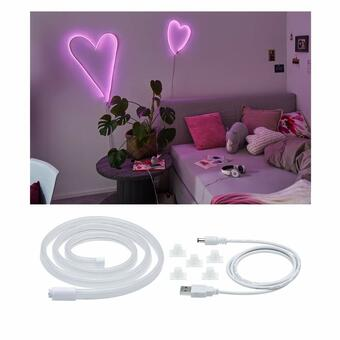 Neon Colorflex USB Strip Pink 1m 4,5W 5V