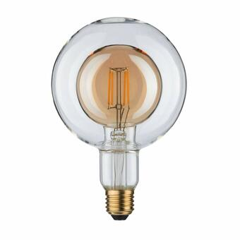LED Inner Shape Globe G125 4 Watt Gold E27 2.700K Warmweiß