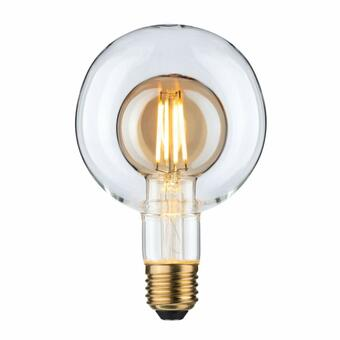 LED Inner Shape Globe G95 4 Watt Gold E27 2.700K Warmweiß