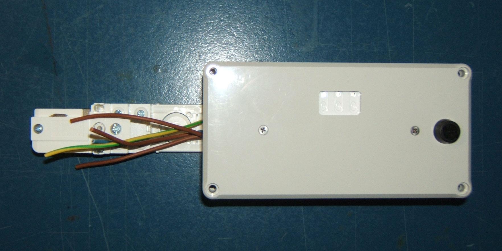 Funk Fernbedienung für Hochvolt Schienensystem 3 Phasen