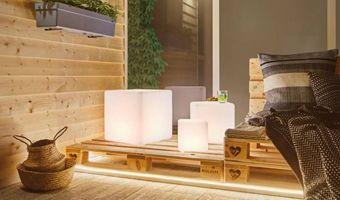 Weiße LED Außenleuchten