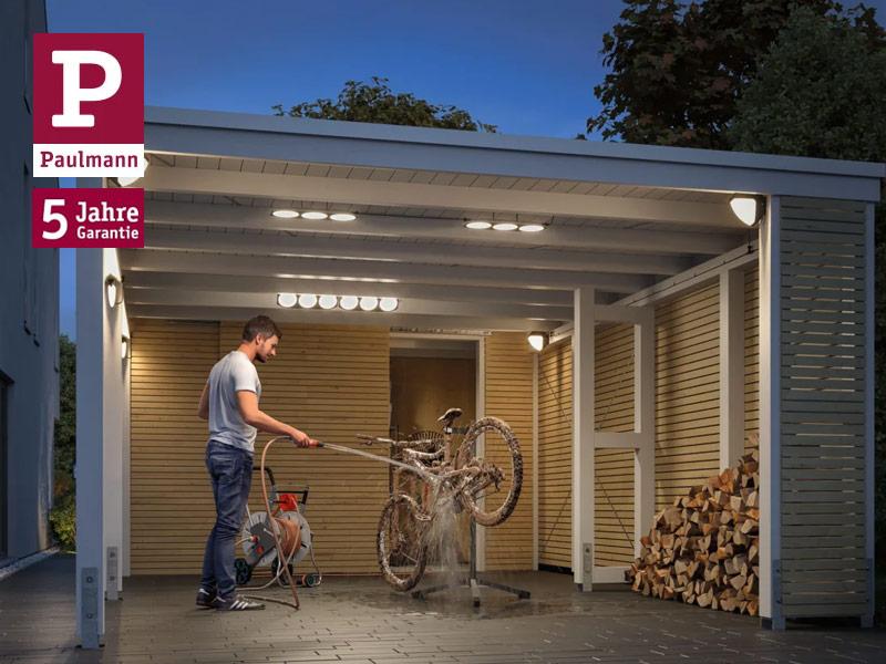 Paulmann Park + Light 12V Lichtsystem für Carports