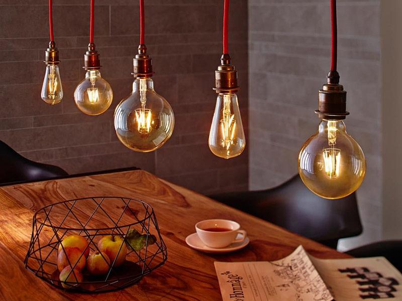 LED Goldlicht Lampen