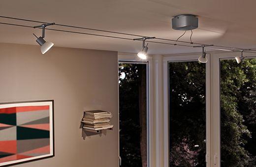 Schienensysteme für Lampen