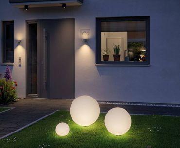 Weisse Außenlampen